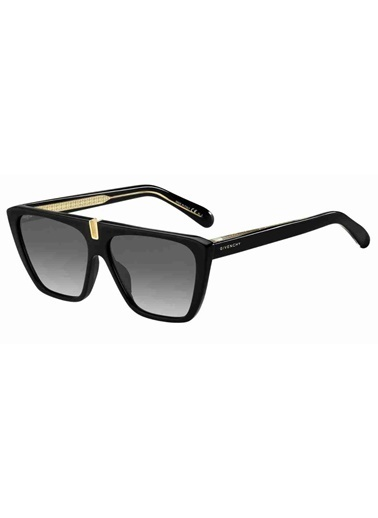 Givenchy Givenchy Gv 7109/S 807 58 Ekartman Kadın Güneş Gözlüğü Siyah